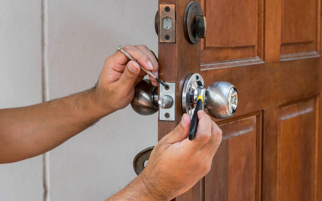changing locks on new house
